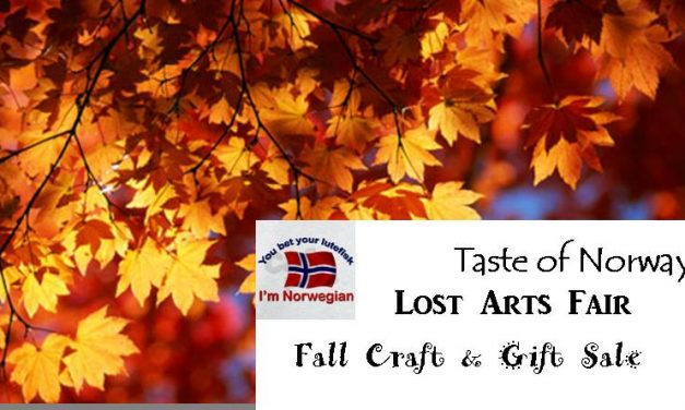 Taste of Norway and Lost Arts Fair Oct 2